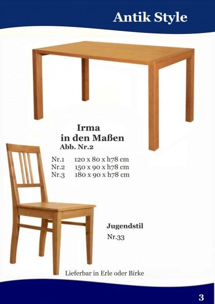 massivholz schreibtisch in erle und birke antik style gmbh beschl ge griffe holzpflege. Black Bedroom Furniture Sets. Home Design Ideas