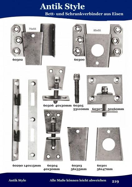 Bett-Schrankverbinder aus Eisen Seite 269