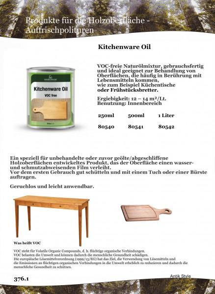 Küchen Öl