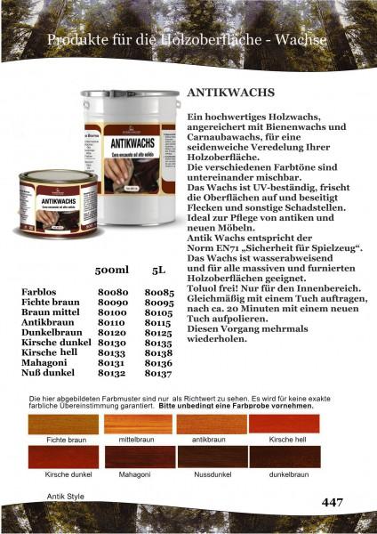 Antikwachs Seite 0365