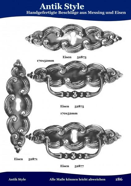 Handgefertigte Beschläge aus Messing und Eisen Seite 227