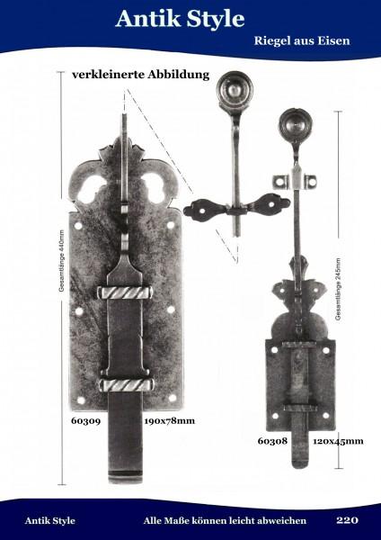 Riegel aus Eisen Seite 270