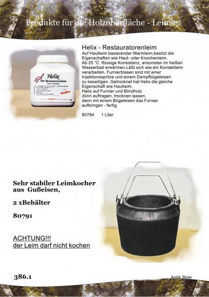 Hautleim/Leimkocher