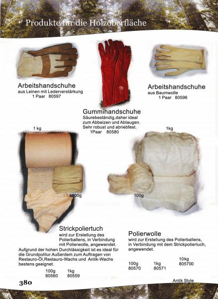 Handschuhe,Poliertuch,Polierwolle