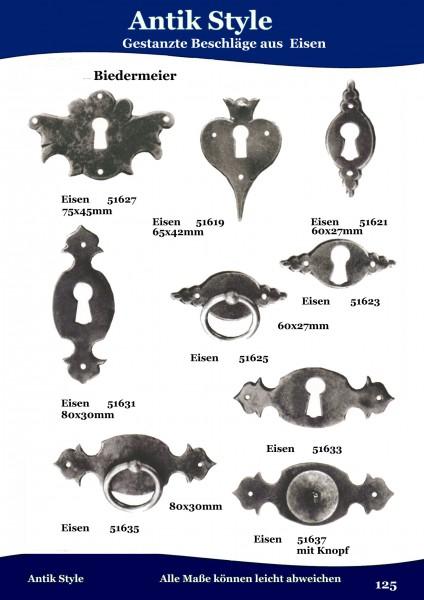 Geprägte Beschläge für Möbel , Louis – Philippe aus Eisen. Seite 155