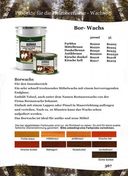 Borwachs/Restaurowachs