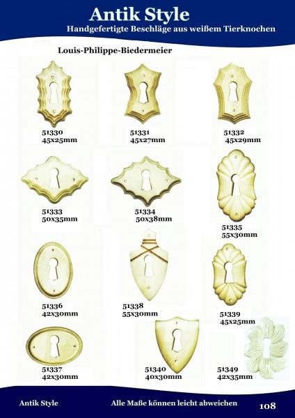 Beschläge aus weißem Tierknochen Seite 129