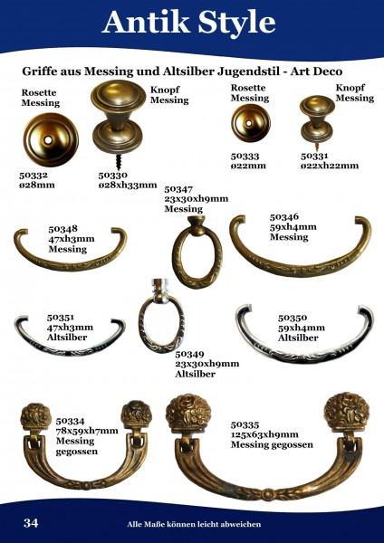34 Möbelgriffe und Ringe