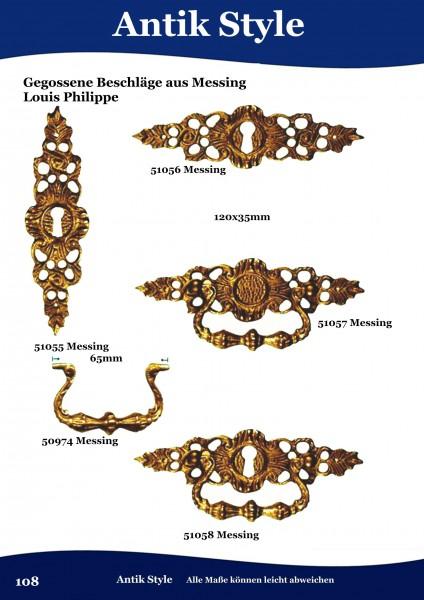 Gegossene Beschläge für Möbel aus Messing Louis – Philippe. Seite 108