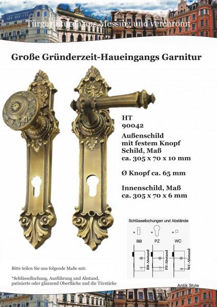 Gründerzeit-Drücker-Garnitur