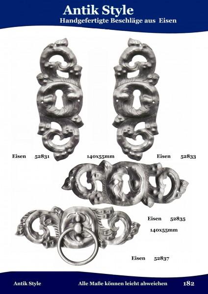 Handgefertigte Beschläge aus Messing und Eisen Seite 220