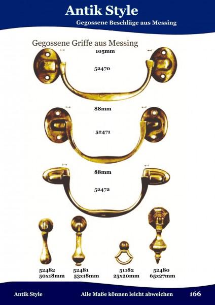 Gegossene Griffe und Klöppel für Möbel Seite 203